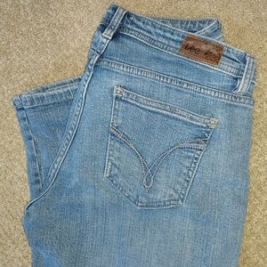Lee cropped jeans